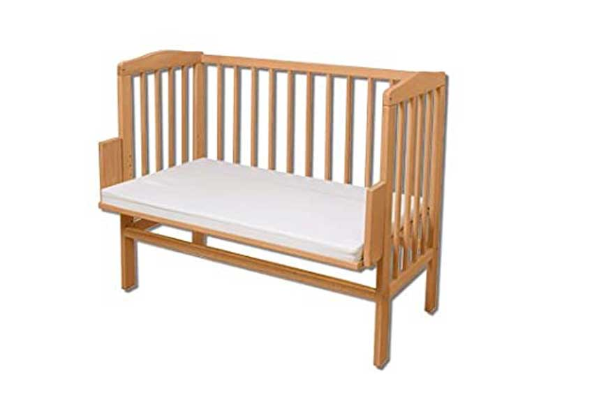Lettino per bambini in legno Waldin baby
