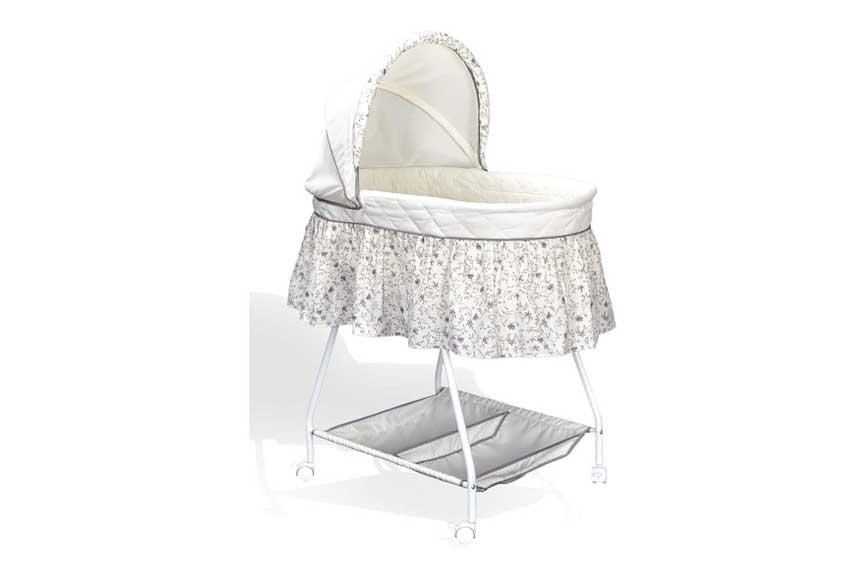 Culla per neonato con rotelle classica
